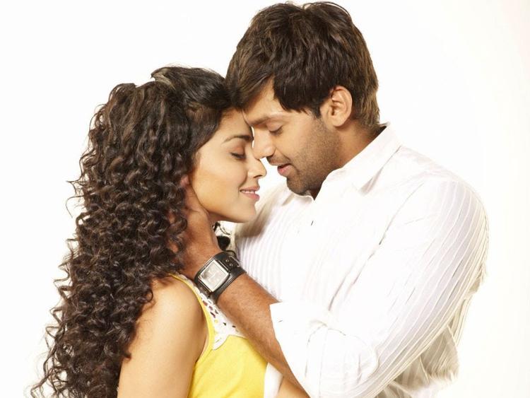 Shriya Saran Hot With Arya In Love To Love Movie