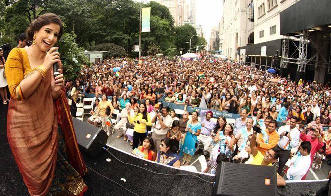 Vidya Balan Speeches At Independence Day Parade In New York