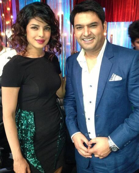 Priyanka And Kapil Smiling Pose During The Promotion Of Zanjeer On The Sets Of Jhalak Dikhhla Jaa 6