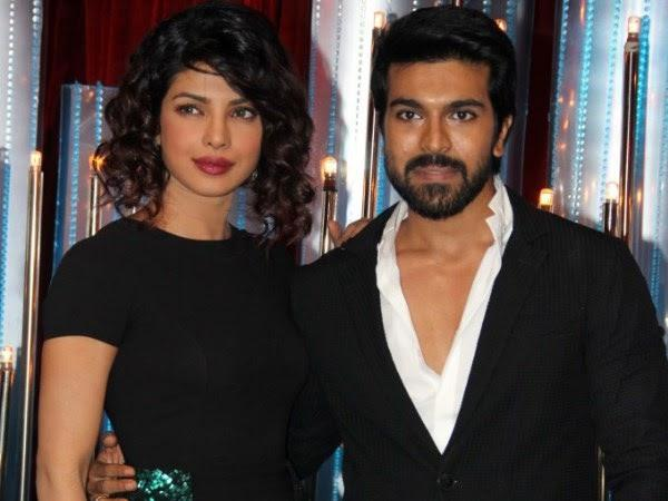 Priyanka And Ram Charan Dazzling Look During The Promotion Of Zanjeer On The Sets Of Jhalak Dikhhla Jaa 6