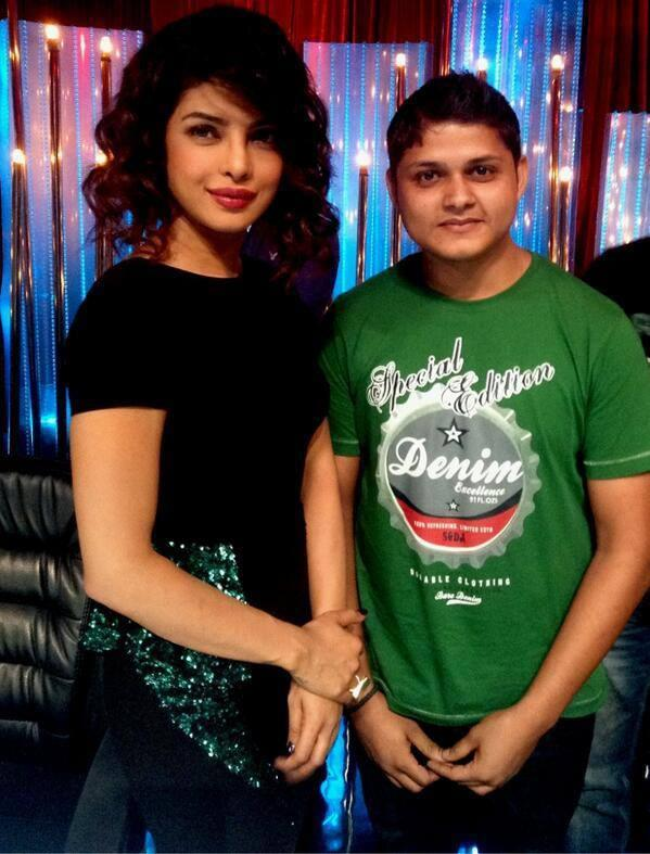 Priyanka Chopra On The Sets Of Jhalak Dikhhla Jaa 6 During The Promotion Of Zanjeer