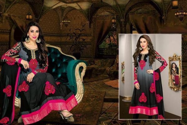 Karisma Kapoor Stunning Pic Photo Shoot For New Ad Salwar Kameez