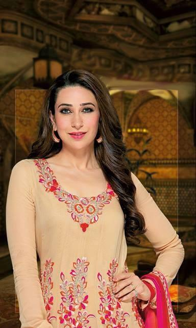 Sizzling Karisma Kapoor Cool Pic For Party And Wedding Salwar Kameez Collection