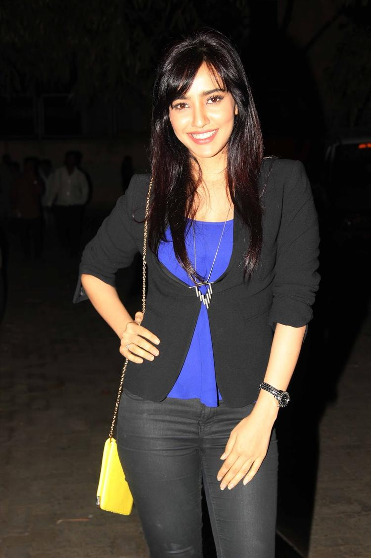 Neha Sharma Stunning Pic During The Special Screening Of Madras Cafe