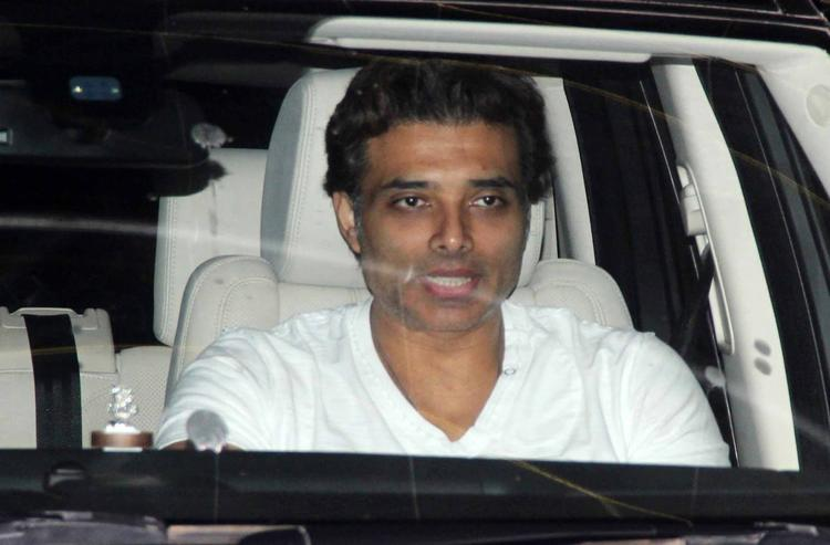 Uday Chopra Arrives At Madras Cafe Special Screening
