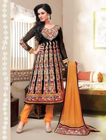 Sonal Chauhan In Designer Anarkali Suit Fashionable Look Photo Shoot Still