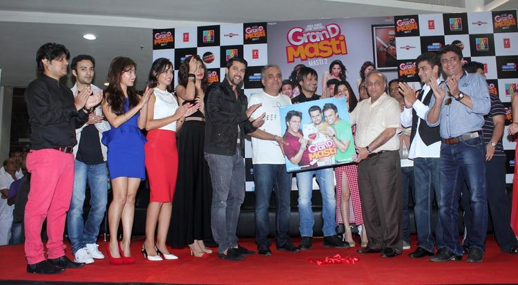 Actors And Actress And Others Launches The Audio Of Grand Masti