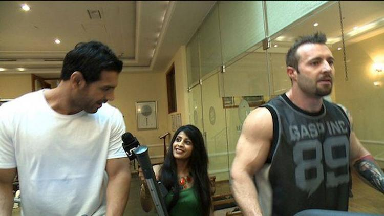 John Abraham Exercise Pin On Indiatimes.Com For His Fans