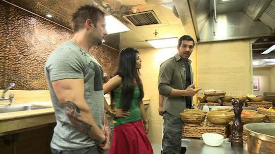 John Abraham With Indiatimes For Forthcoming Flick Madras Cafe