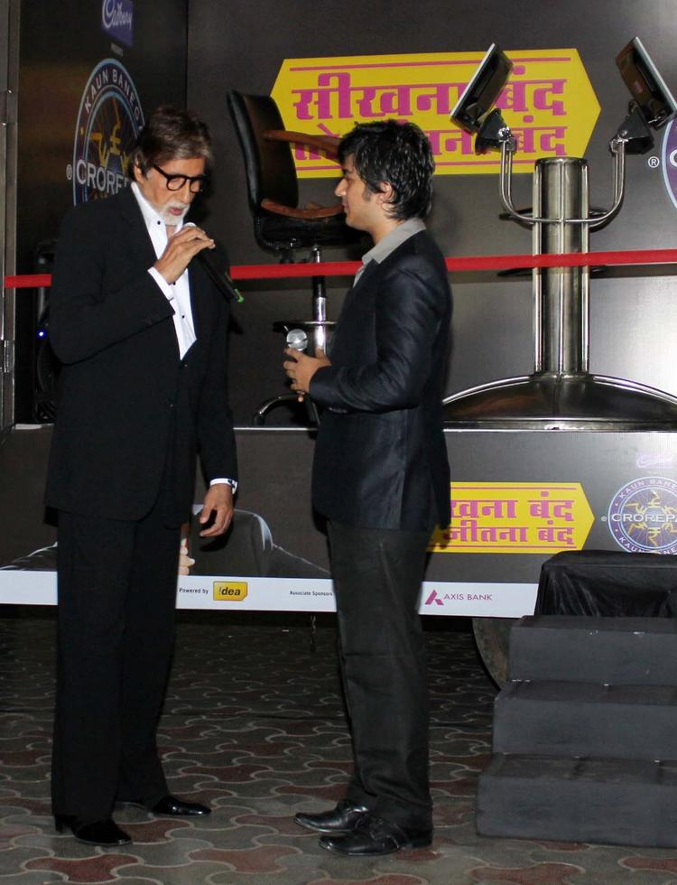 Amitabh Bachchan Most Popular Game Show KBC Promotional Event Still