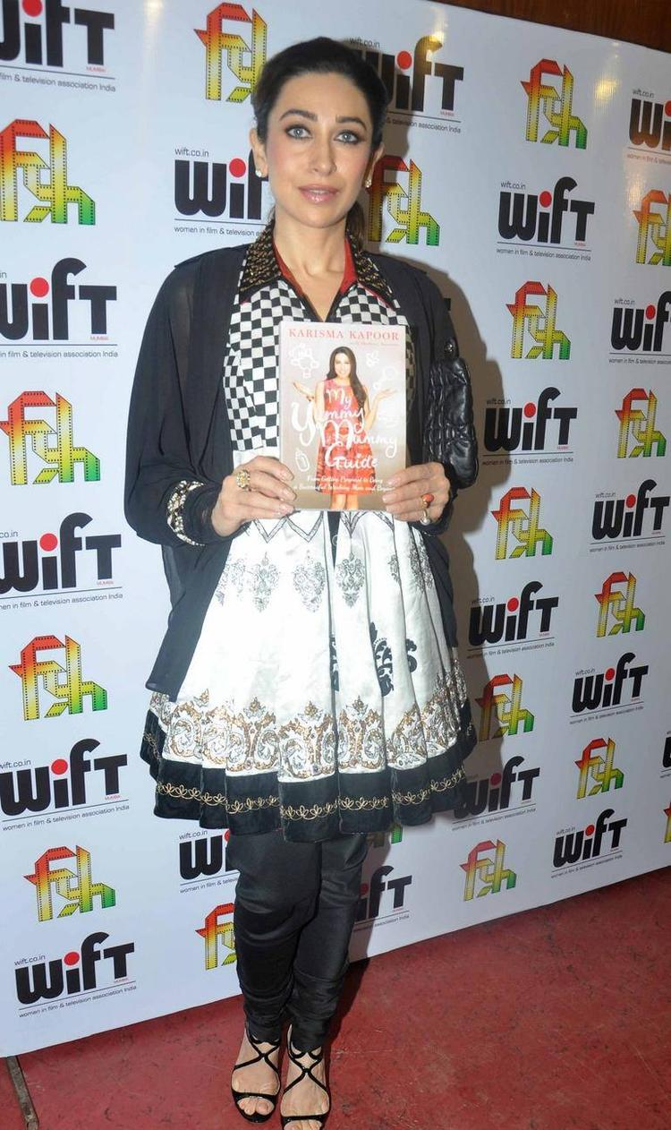 Karisma Kapoor Lunches Her Book My Yummy Mummy Guide