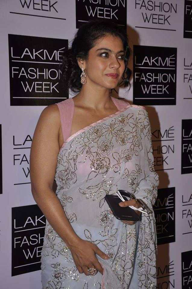 Kajol Devgan Spotted At LFW Day Show 2013