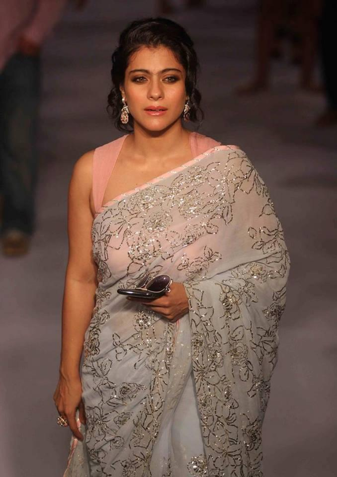 Kajol In Shehla Khan Show Lakme Fashion Week 2013 Day 2