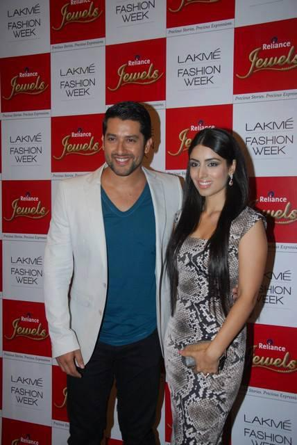 Aftab Shivdasani Spotted At LFW 2013 Day 4 Show