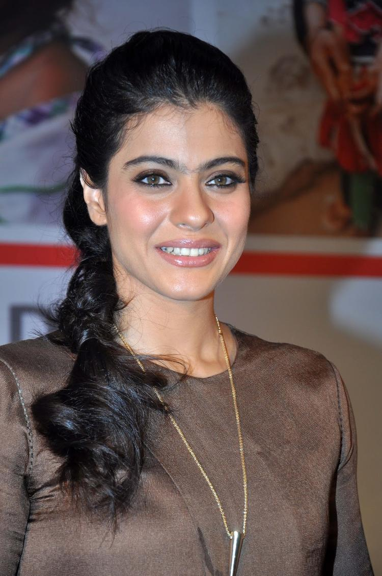 Kajol Devgan Draped Dress By Designers Ankur Modi And Priyanka Modi