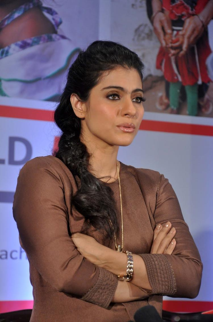 Kajol At Help A Child Reach 5 Campaign
