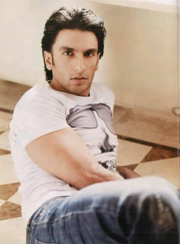 Ranveer Singh Dazzling Cool Look For Filmfare Magazine September 2013 Issue