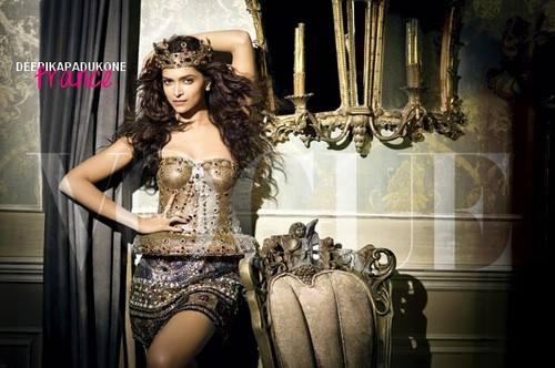 New Queen Of Bollywood Deepika Photo Shoot For Vogue September 2013