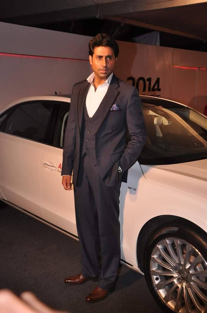 Abhishek Bachchan Launches The Audi Autumn Collection 2014