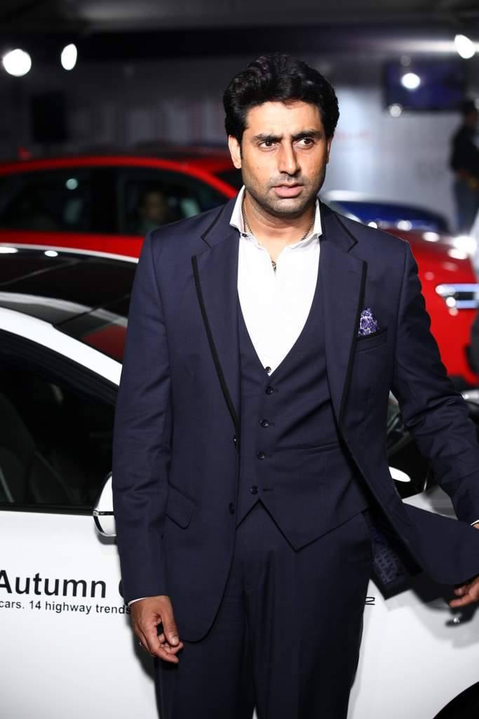 Abhishek During The Launch Of Audi Autumn Collection 2014