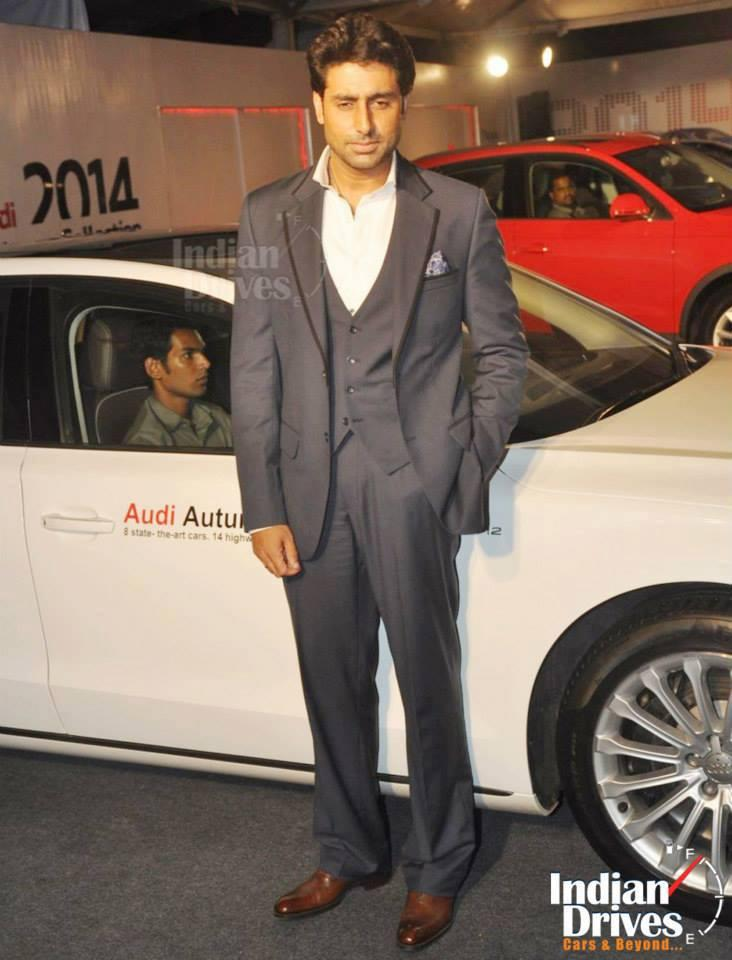 Bollywood Style Icon Abhishek Launches The Audi Autumn Collection 2014