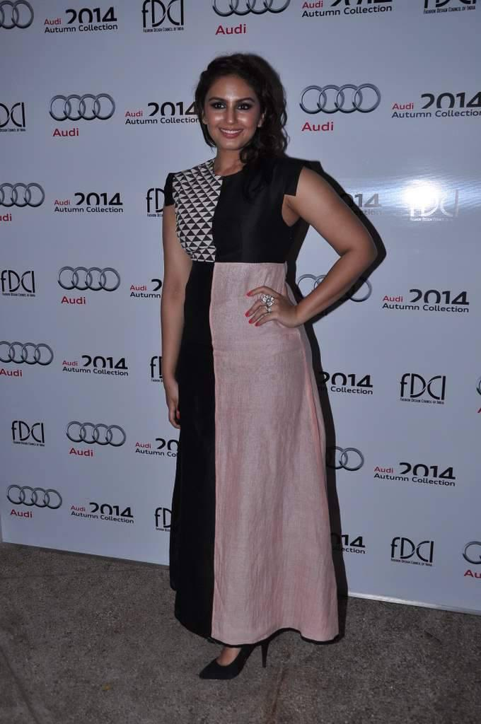 Huma At The Launch Of Audi Autumn Collection 2014