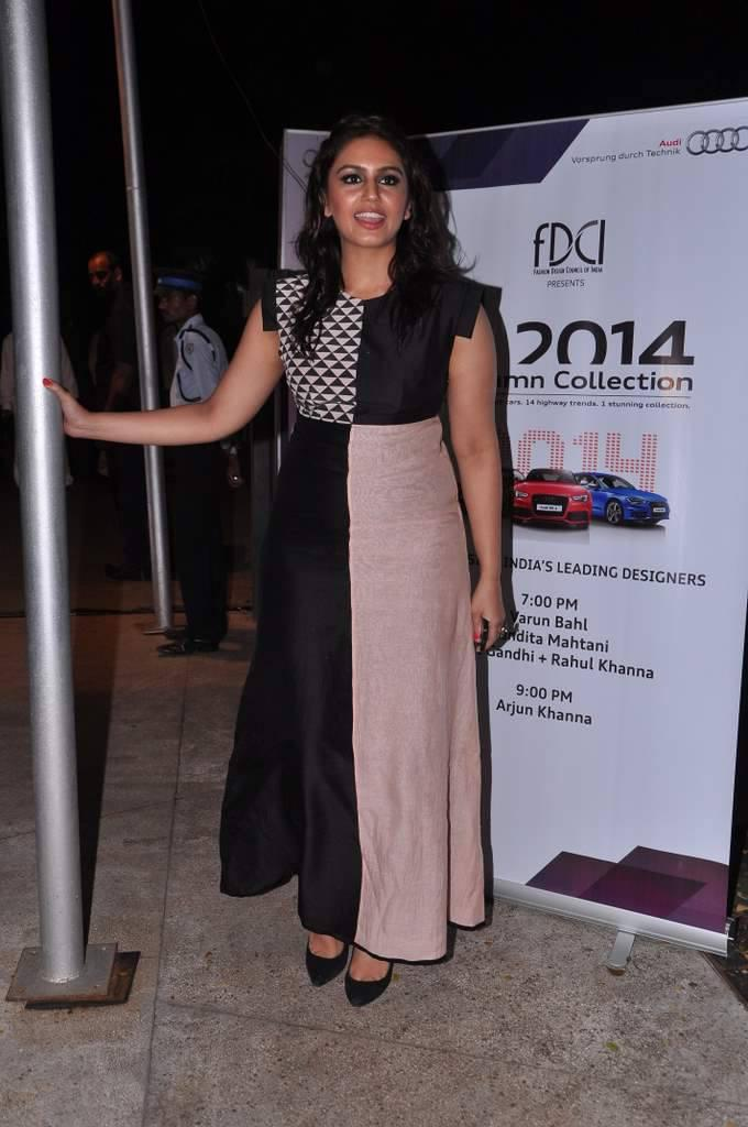 Huma Qureshi Arrives The Launch Of Audi Autumn Collection 2014