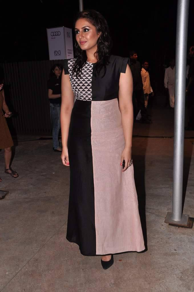 Huma Qureshi Snapped At The Launch Of Audi Autumn Collection 2014