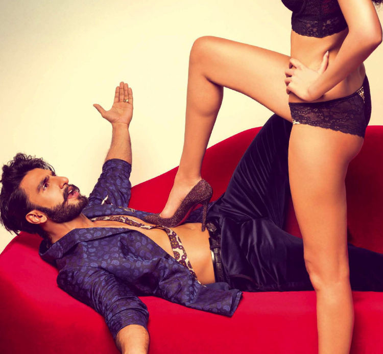 Ranveer Singh Spicy Pose For GQ Magazine September 2013 Issue