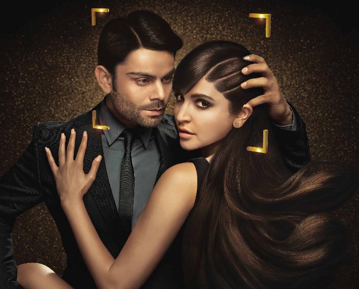 Anushka Latest Spicy Photoshoot For Clear Shampoo Ad With Virat Kohli