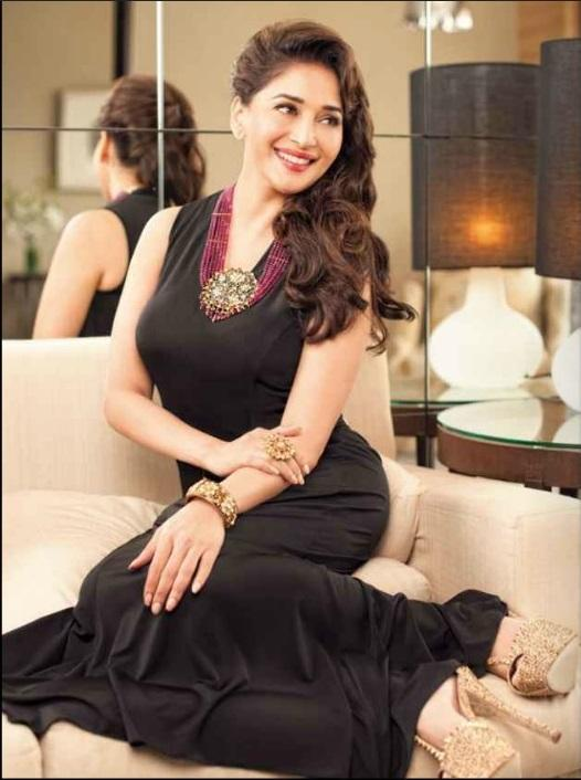 Madhuri Dixit Adorns The Cover Of Hi! BLITZ For The September 2013 Issue