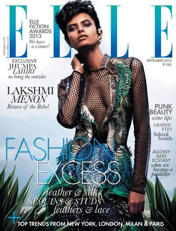 Latest Glamour Lakshmi Menon On The Cover Of Elle