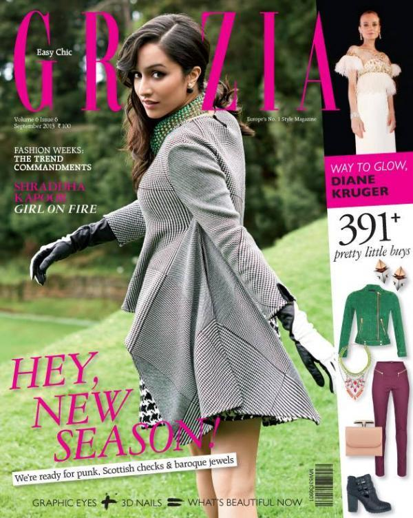 Aashique 2 Girl Shraddha Kapoor On The Covers Of Grazia