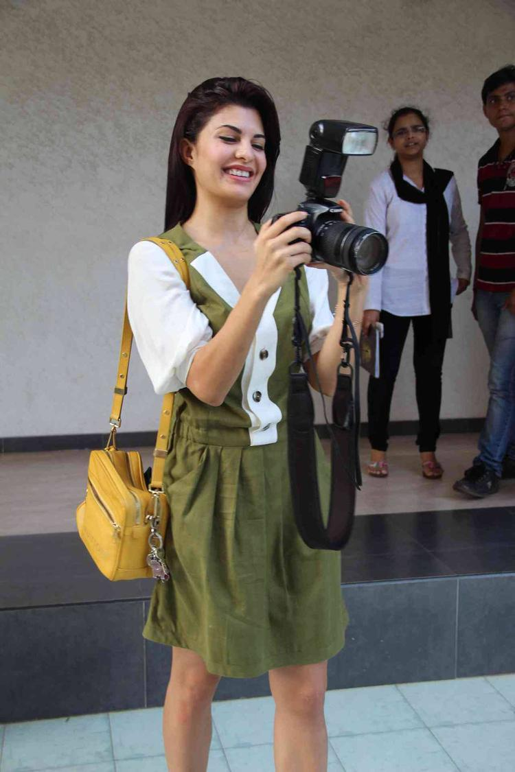 Jacqueline Gets Behind The Camera For A Change At Women's Safety Campaign