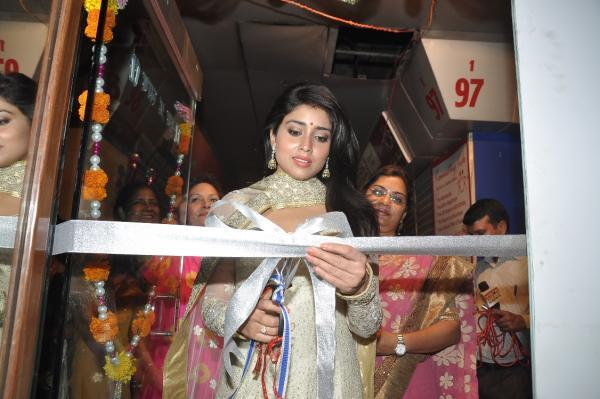 Shriya Saran Cut The Ribbon During The Inauguration Of The Inner Wheel Club