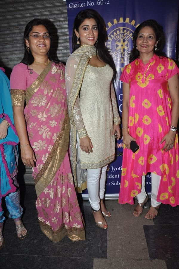 Shriya Saran Posed At The Inner Wheel Club Launching Event