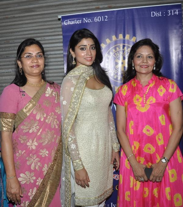 Shriya Saran Present At The Inauguration Of The Inner Wheel Club