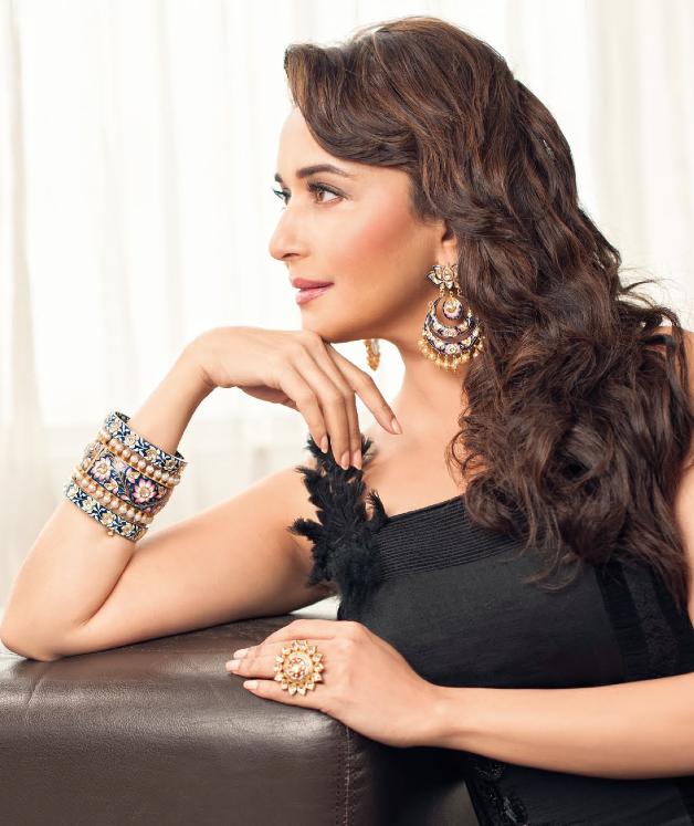 Hi! BLITZ Issue 2013 Madhuri Dixit Nene Glamour Still