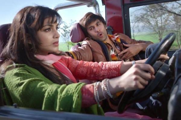 Besharam Movie Ranbir Fun Still And Pallavi Angry Still