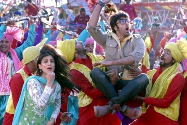 Ranbir And Pallavi Song Latest Still In The Upcoming Bollywood Movie Besharam