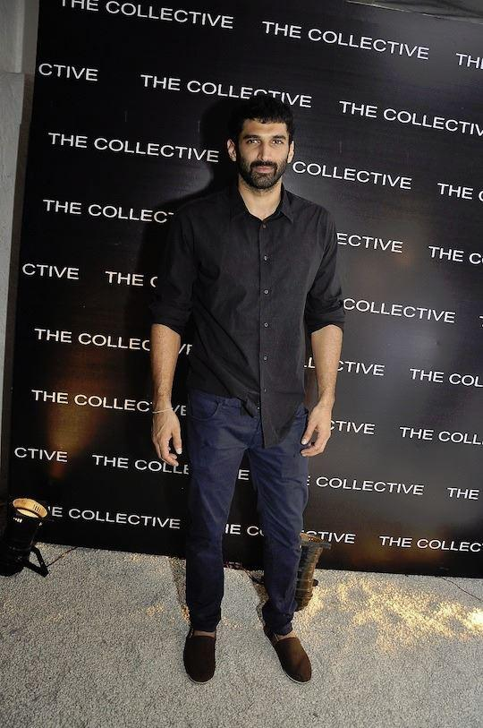 Aditya Roy Kapur Dappers Look At The Collective Style Book Green Room Launching Event