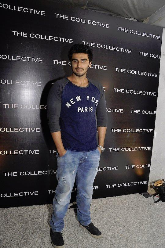 Arjun Kapoor Makes A Stylish Entry At The Collective Style Book Green Room Launching Event