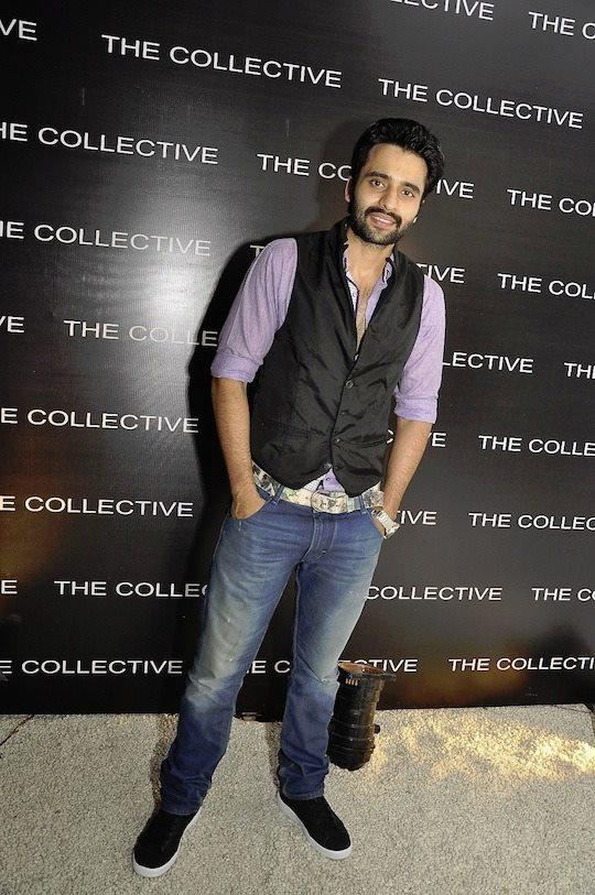 Jackky Bhagnani Is All Smiles At The Collective Style Book Green Room Launching Event