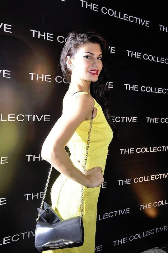 Jacqueline Fernandez Looks Dazzling In Yellow At The Collective Style Book Green Room Launching Event