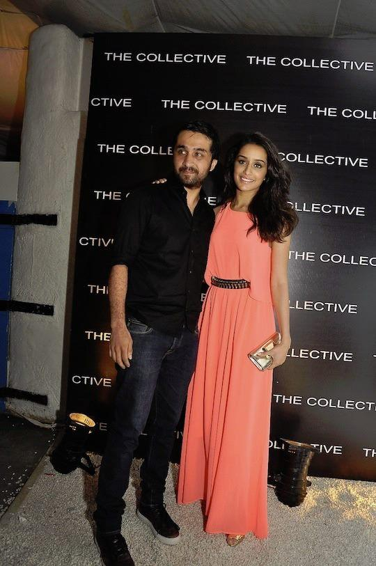 Shraddha Kapoor Posed With A Friend At The Collective Style Book Green Room Launching Event