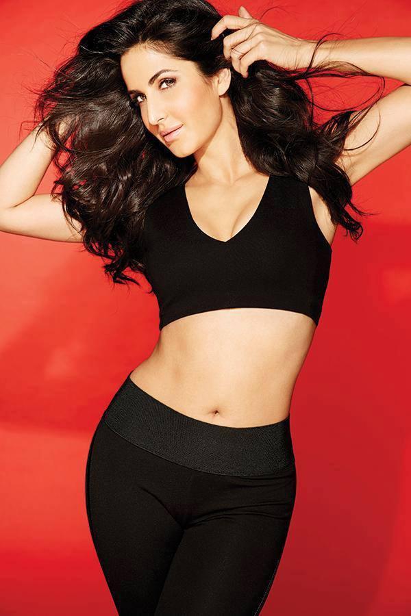 FHM Magazine September 2013 Issue Katrina Kaif Sexy Navel Exposing Photo Shoot