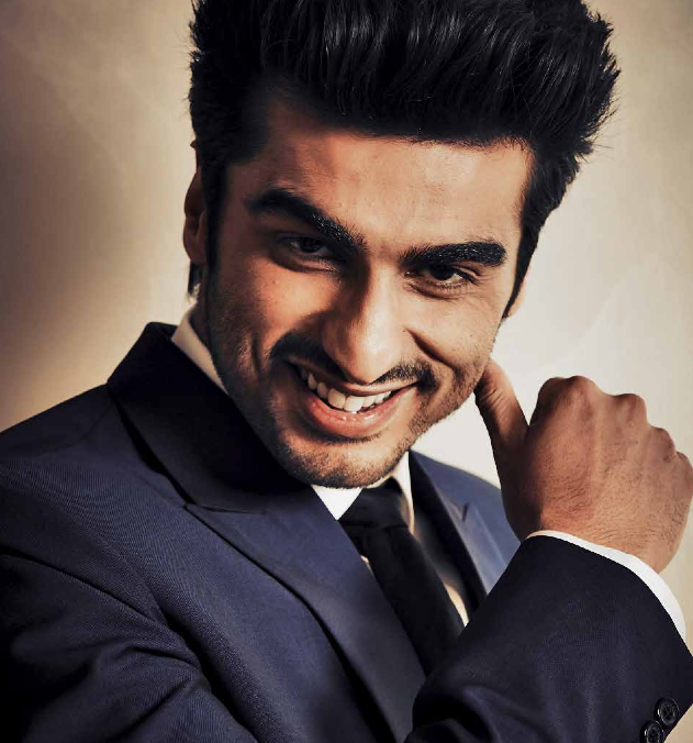 Arjun Kapoor Smiling Face Look Photo Shoot For HQ