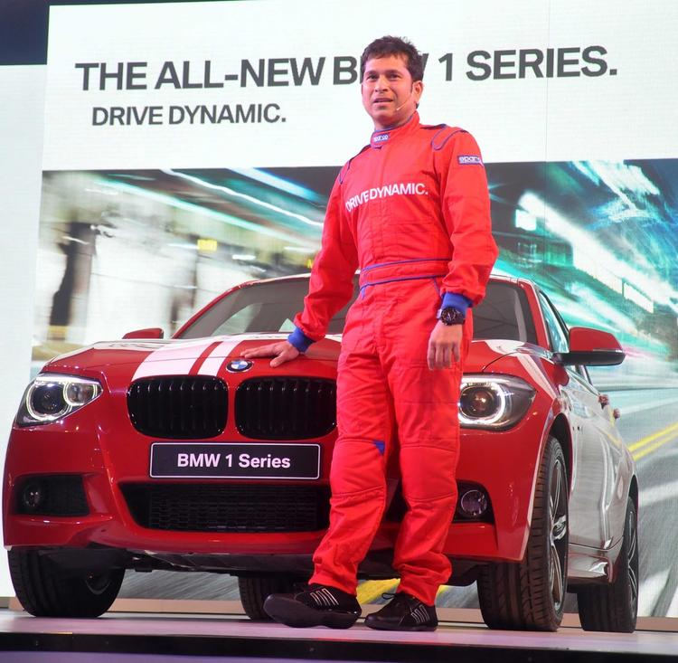 BMW 1 Series Was Unveiled By Cricketer Sachin Tendulkar