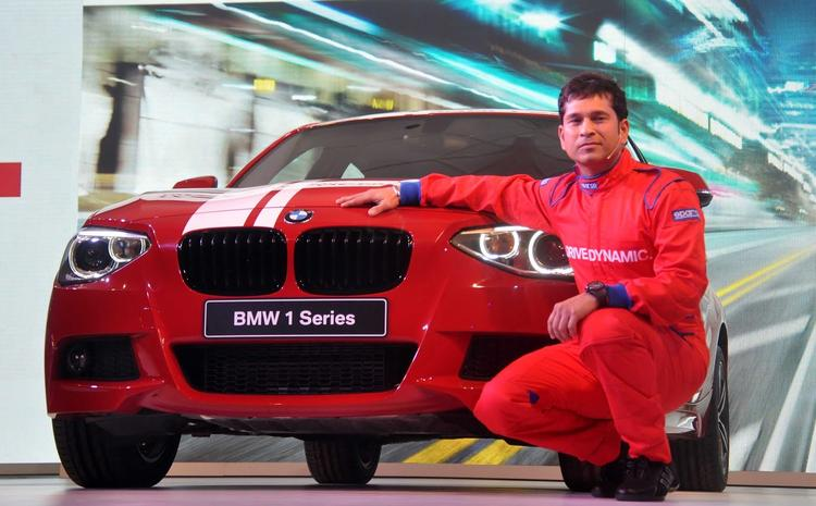Sachin Tendulkar Launches The Stunning New BMW 1 Series Car