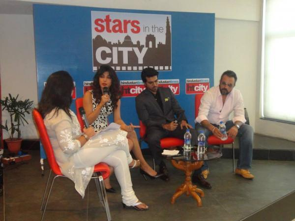 Priyanka And Ram Charan Discussion At Hindustan Time's Stars In The City During The Promotion Of Zanjeer